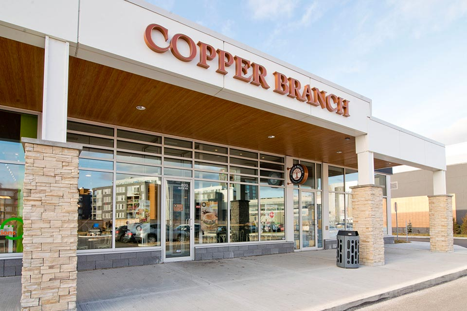 COPPER BRANCH IS NOW THE WORLD'S LARGEST PLANT-BASED RESTAURANT FRANCHISE